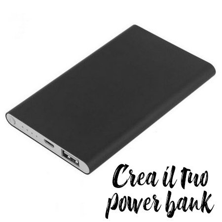 Power Bank nero